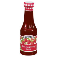 Smucker'S Red Raspberry Syrup, 12-Ounce Glass (Pack Of 6)
