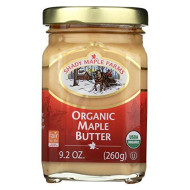 Shady Maple Farms Organic Maple Butter, 9.2 Ounce - 8 Per Case.