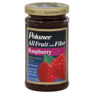 Polaner All Fruit With Fiber Raspberry Spreadable Fruit 10 Oz (Pack Of 12)