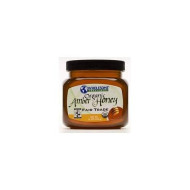 Wholesome Sweeteners Organic Amber Honey, 16 Ounce -- 6 Per Case.
