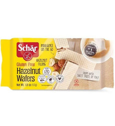 Schar Gluten Free Hazelnut Wafers, 1.8 Oz., 20-Pack