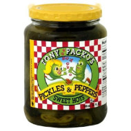 Tony Packo'S Pickles And Peppers Sweet Hots, 24 Ounce (Pack Of 6)