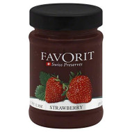 Favorit Preserves, Strawberry, 12.30-Ounce (Pack Of 6)