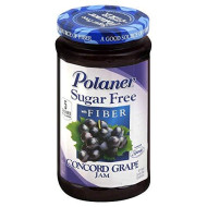 Polaner Sugar Free Concord Grape Jam With Fiber 13.5 Oz - Pack Of 12