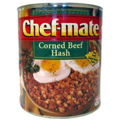 Chef-mate Corned Beef Hash - #10 can - CASE PACK OF 2