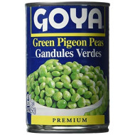 Goya Green Pigeon Pea, 15-Ounce (Pack of 12)
