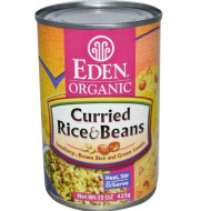 Eden Organic Rice And Beans, 15 Oz. Cans