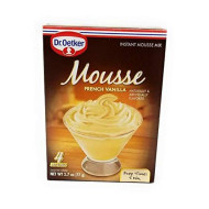 Dr Oetker French Vanilla Mousse, 2.7-Ounce (Pack Of 6)