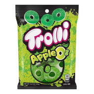 Trolli Apple O'S Gummy Candy, 4.25 Ounce Bag, Pack Of 12