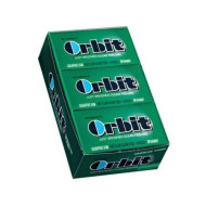 Wrigleys Orbit Spearmint, 14-Count (Pack Of 12)