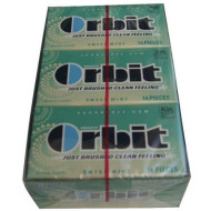 Wrigleys Orbit Sweet Mint, 14-Count (Pack Of 12)