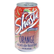 Shasta Orange, 12-Ounces (Pack Of 24)