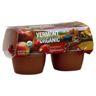 Vermont Village Applesauce Cups Cinnamon, 16-Ounce (Pack of 6)