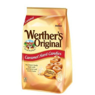 Werther'S Original Caramel Hard Candies, 34 Ounce Bag (Pack Of 2), Hard Candy, Bulk Candy, Individually Wrapped Candy Caramels, Caramel Candy Sweets, Bag Of Candy, Hard Candy Bulk