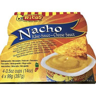 Rico's Nacho Cheese Dip,4 count, 3.5 Ounce