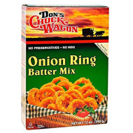 Don's Chuck Wagon Onion Ring Mix, 12 Ounce (Pack of 12) Crispy and Delicious Fried Onion Rings, Bloomin' Onion, and other Fried Vegetables, Chicken, Fish, Seafood and more