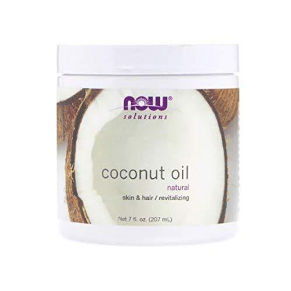 NOW Solutions Coconut Oil, 7-Ounce