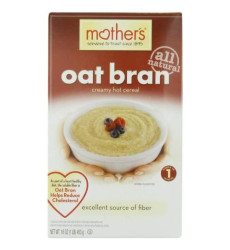 Mother'S Cereal Hot, Oat Bran, 16-Ounce (Pack Of 4)