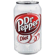 Diet Dr. Pepper, 12-Ounce Cans (Pack of 24)
