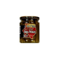 Talk O' Texas Hot Crisp Okra Pickles, 16 Ounce (Pack Of 6)