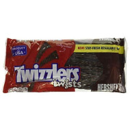 Twizzlers Chocolate Twists, 12-Ounce Bags (Pack Of 2)