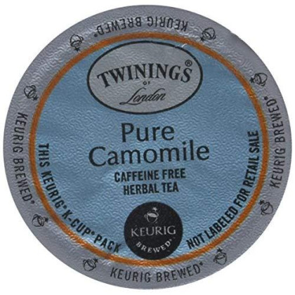 Twinings Pure Camomile Tea Single Serve Pods, 48 Count
