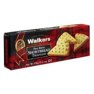 Walkers Shortbread Pure Butter Triangles, 5.3 Ounce Box (Pack Of 4) Traditional &Amp; Simple Pure Butter Shortbread Cookies From The Scottish Highlands, No Artificial Flavors
