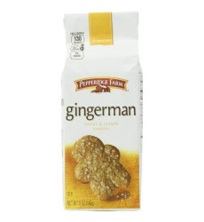 Pepperidge Farm Gingermen Cookies, 5-Ounce (Pack Of 4)