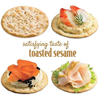 Dare Toasted Sesame Water Crackers