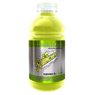 Sqwincher 12 Oz Ready To Drink Electrolyte Replacement Bottle, Lemon Lime 030908-Ll (Case Of 24)