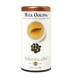 Republic Of Tea Milk Oolong, Full Leaf, 3.5 Oz
