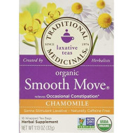 Traditional Medicinals Organic Smooth Move Chamomile 16 Ct