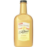 Davinci Gourmet Sauce, White Chocolate, 64 Ounce