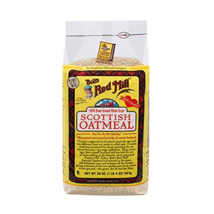 Bob's Red Mill Scottish Oatmeal, 20-ounce (Pack of 4)