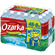 Ozarka Natural Spring Water - 48/8 oz.