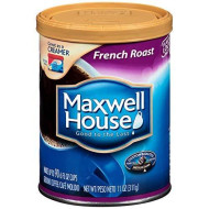 Maxwell House Rich French Roast Ground Coffee, 11 oz