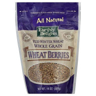 Natures Earthly Choice All Natural Wheat Berry, 14 Ounce - 6 per case.