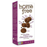 Homefree Treats You Can Trust Gluten Free Mini Cookies, Double Chocolate Chip, 5-Ounce (Pack Of 6)