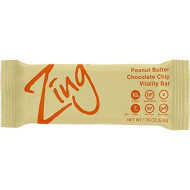 Zing Bars Peanut Butter Chocolate Chip, 1.76 Oz