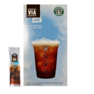 Starbucks Via Ready Brew Coffee, Decaf Italian Roast,(7 Count In 1 Box)
