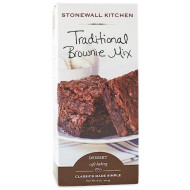 Stonewall Kitchen Traditional Brownie Mix, 18 Ounce Box