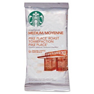 Starbucks Pike'S Place Portion Packs, 2.5-Ounce (Pack Of 18)