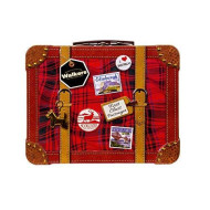 Walkers Shortbread Suitcase Tin, 8.8 Ounce