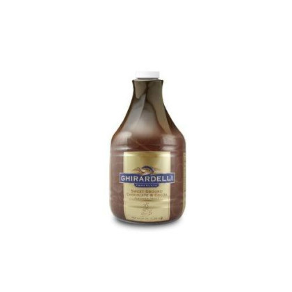 Ghirardelli Sweet Ground Chocolate Flavored Sauce, 64 Ounce - 6 Per Case.