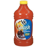 V8 Splash Fruit Medley Juice, 64 Ounce - 8 Per Case.