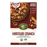 Nature'S Path Organic Cereal, Heritage Crunch, 14 Ounce Box (Pack Of 6)