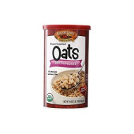 Country Choice Organic Oven Toasted Old Fashioned Oats, 18-Ounce Canisters (Pack Of 36)