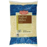 Arrowhead Mills Whole Grain Puffed Millet Cereal, 6-Ounce Bags ( Pack Of 96)