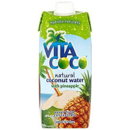 Vita Coco Coconut Water, Pineapple, 1-Count (Pack Of 6)