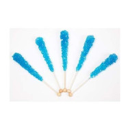 Rock Candy Crystal Sticks Blue Raspberry 12 Ct.